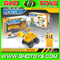 Hot sale new product 1:32 Four remote control dump truck with audio