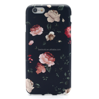 IMD Whole Printing Flower Pattern Soft TPU Case for iP 6 6s&Plus