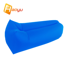 New Trending Inflatable Waterproof sleeping/Lounger/Camping Air Sofa Bag /bed/chair With Side Pocket