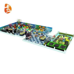 Cheap eco-friendly kids games indoor playground equipment