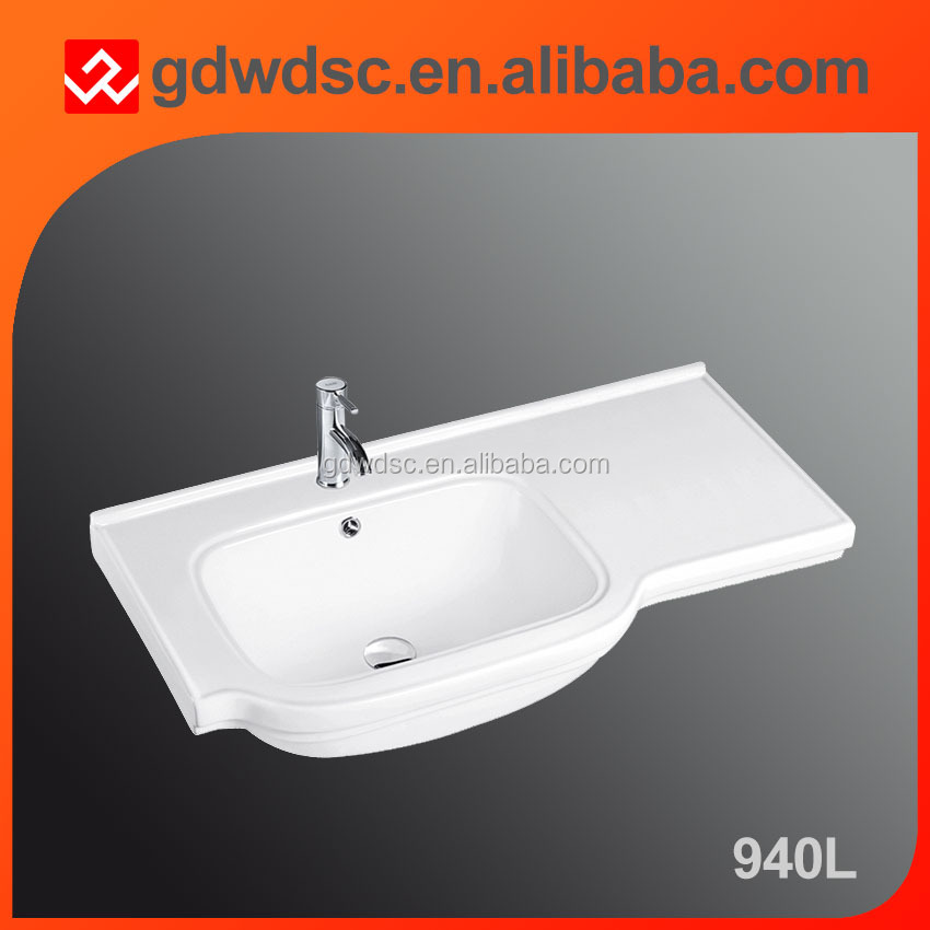 Chaozhou sanitary ware ceramic wash toilet basin made in china