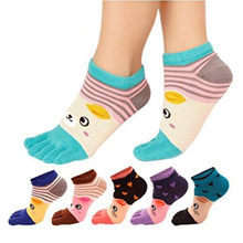 Cheap Price Best Design Custom Logo Five Fingers Toe Socks