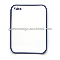 Simple Magnetic Note Board with Mark Pen and Dry Erase