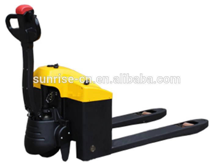 2.5ton battery operated pallet truck/electric pallet fork lift for sale