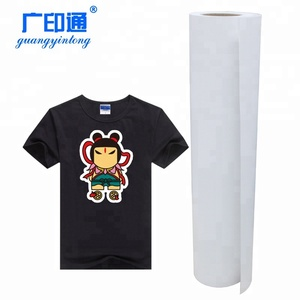 Guang Yin Tong korea quality pu htv flex textil heat transfer vinyl sheets roll for t-shirt clothing