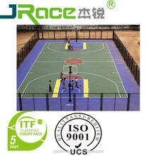 school outdoor basketball court inflatable volleyball court sport facility