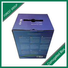 Custom order accept corrugated paperboard 5-ply carton box