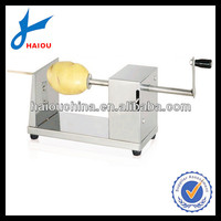 H001 spiral potato chips cutter machine
