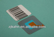 8.2mhz barcode eas security magnetic ,RF Label