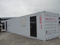 CE certifed steel structural container house for living