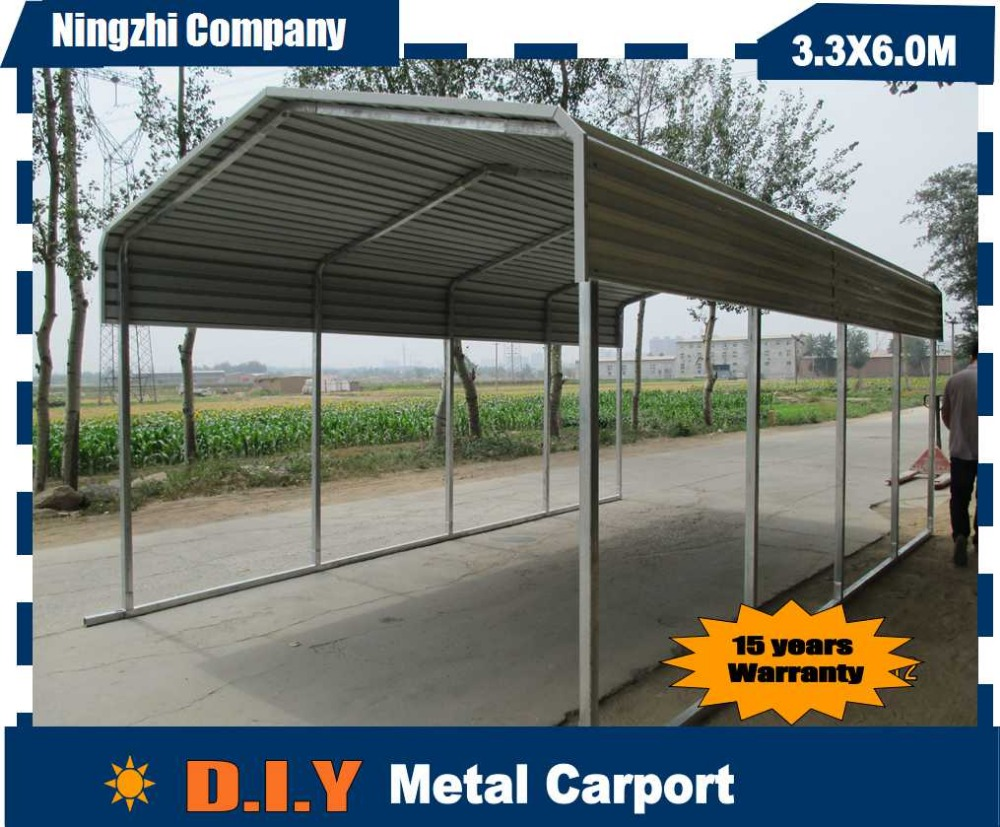 New Steel Carport 3.3m X 6m Regualr Gable Roof Shelter Boat Portable Color