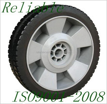 Factory 6 Inch Plastic Wheel 6x2 Solid Rubber Wheels