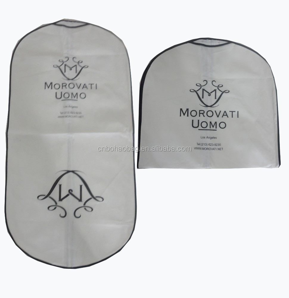 eco-friendly non-woven garment bag travel suit covers bag,garment travel bag
