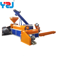 PP/PE/PET plastic granules making machine waste recycling Chinese manufatuer
