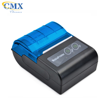 Thai Spanish font Smart Design Bluetooth mobile mini 58mm thermal printer paper size for ticket receipt