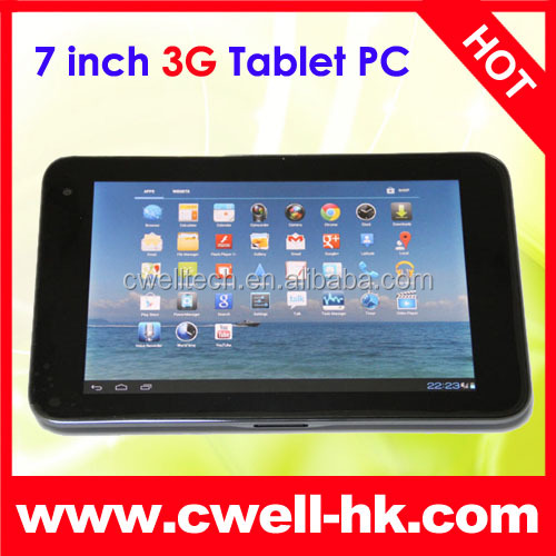 ZTE V71B Smart Tab 7 Qualcomm MSM8260 Dual Core 7 inch Android 4.0 IPS 3G Tablet PC