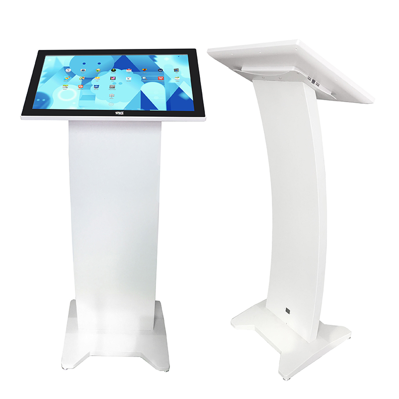 Wall mount 21.5 inch all in one shopping mall advertising touch screen kiosk