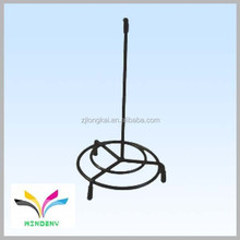 China supplier high quality best selling unique decorative display shelf metal wire attractive desk flag stand