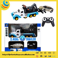 radio control toy 360ROTATION free trailer frame electric battery play toy car