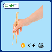 Personalized opp film packed non stick disposable nature bamboo chopsticks