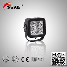 40W auto square LED work light, auto flood light for 4x4, heavy vehicle