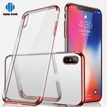 Shockproof clear protective thin case for iphone x