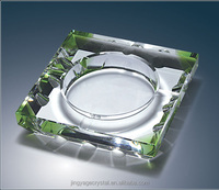 Beautiful Crystal Ashtray for Office decoration