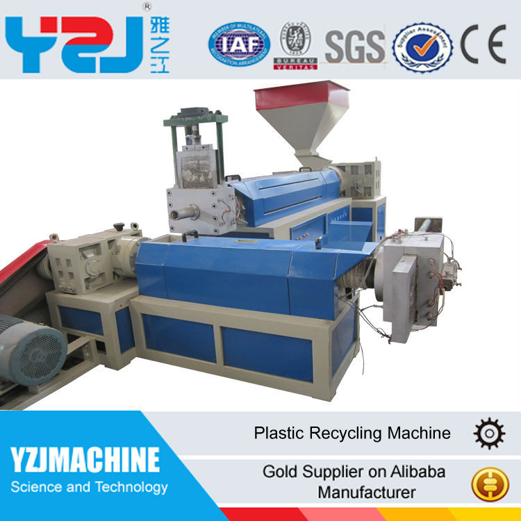 YZJ Ce approved PP ABS hard plastic <strong>pellet</strong> machine