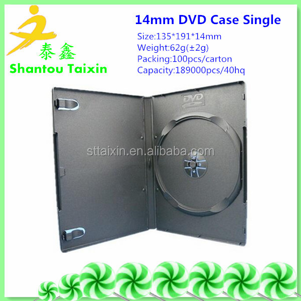 shantou plastic factory offering pp cd dvd cases,cd cover, dvd holders