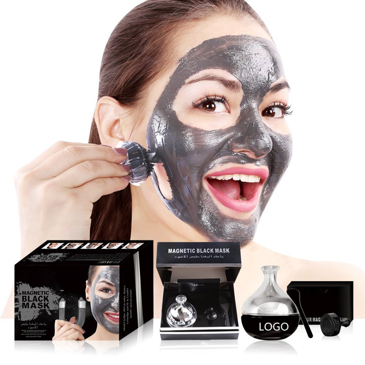 OEM Whitening Charcoal Mineral Magnetic Mud Mask
