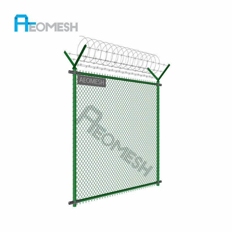 Chain link fencing birds cage metal fence (manufacturer)