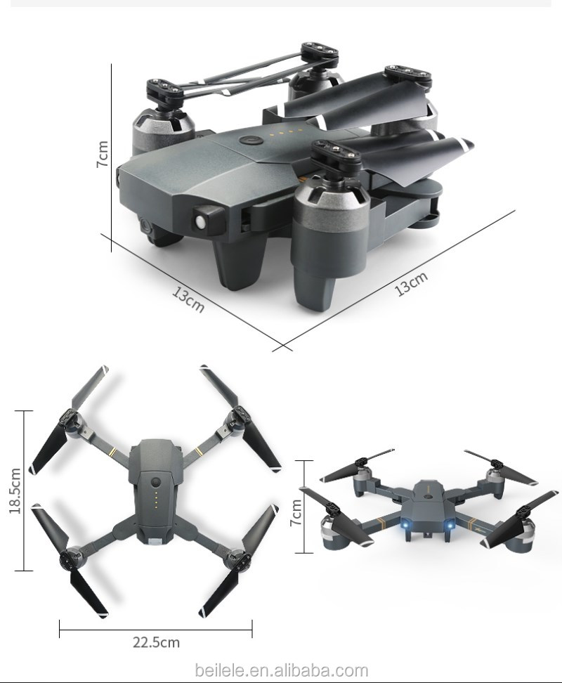 YD XT-1 Foldable Remote Control Quadrocopter with 1080P Camera Wifi Aerial Remote Control Drone with Camera