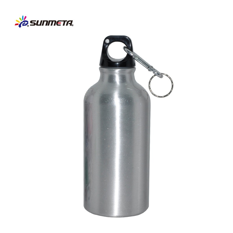 Hot Selling Promotional Sublimation Aluminum Bottle DIY Printing Travel Souvenir Water Bottle 400ml