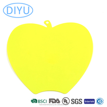 Cute Plastic Apple Shape Small Home Kitchen Used Cutting Board