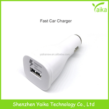 Yaika Single USB Fast Car Charger for Samsung Charger Adapter