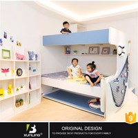 Kid Wall Bed Bedroom Furniture Set Solid Pine Funiture Murphy Bed