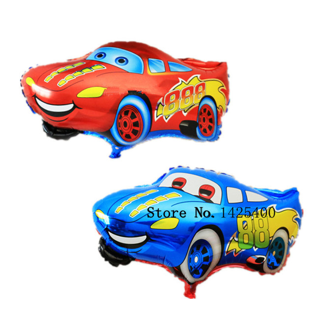 1pcs The new  Cartoon Cars Mai Kun aluminum balloons birthday party balloon wholesale cartoon toys
