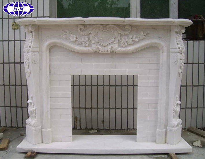 Modern Antique Home Stone Decoration Fireplace
