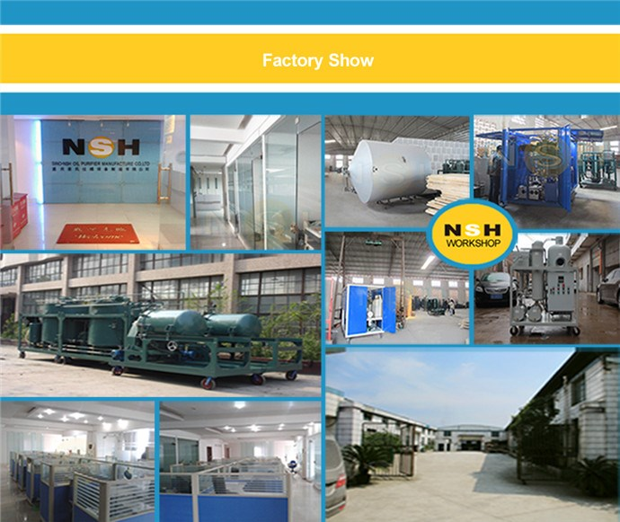 Improve Property Purifying Lubrication Oil Purifier Machine