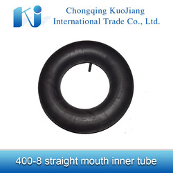 Tractor parts tyre inner tube with straight enter-gas nozzle