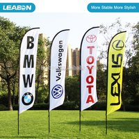 High Quality Custom Design Feather Flags