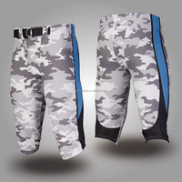 Most popular custom camo football pants and football jerseys