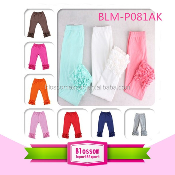 Modern cotton baby girl icing pants summer breathable baby leggings pants