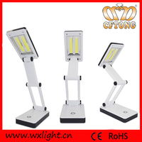 Battery Operated Table Lamp LED Folding Reading Lamp
