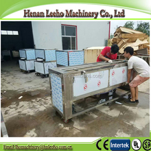 china famous big lizao pear dates cleaner and washer equipment