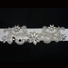 Wholesale Crystal Rhinestone Belt For Wedding Dress/Bridal Sash DH-WB1185
