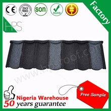 Colorful stone coated metal roof tile/sand coated steel roofing sheet