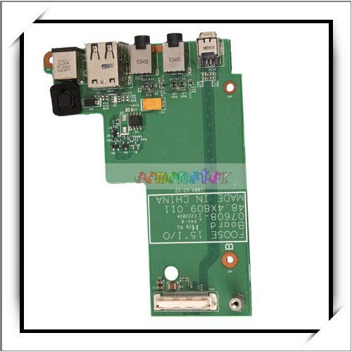 DC Power Board Jack with FireWire 1394/USB/Audio ports for Dell Latitude E5500 -83002704