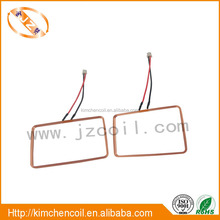 Square antenna coil 0.2mm copper wire coil RFID loop antenna 125KHZ