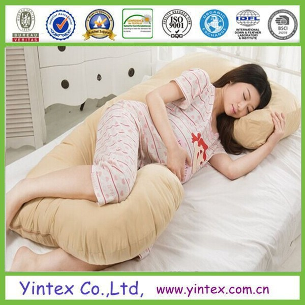 U Shape Back Belly Support Body Pillows for Pregnant Women